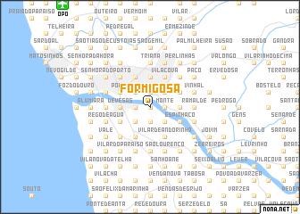 map of Formigosa
