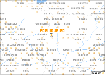 map of Formigueiro