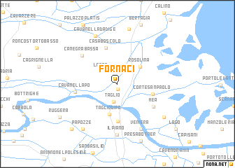 map of Fornaci