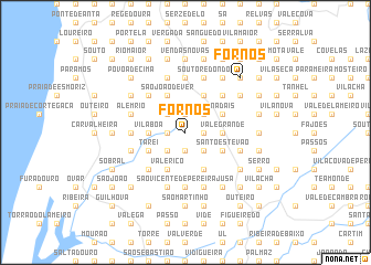 map of Fornos