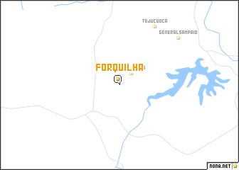 map of Forquilha