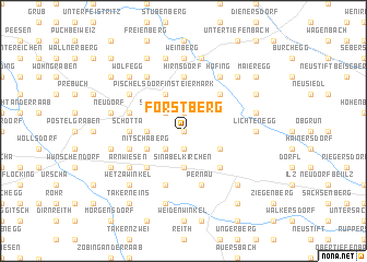 map of Forstberg