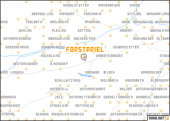 map of Forstpriel