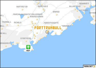 map of Fort Trumbull