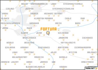 map of Fortuna