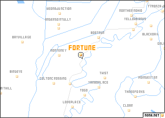 map of Fortune