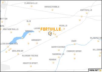 map of Fortville