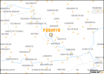 map of Foshnya