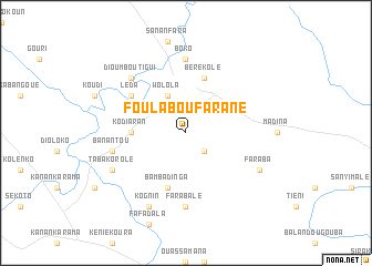 map of Foulaboufarané
