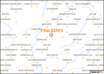 map of Foulognes