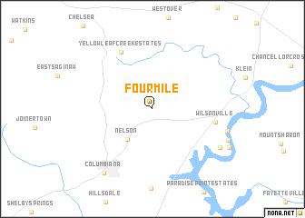 map of Fourmile