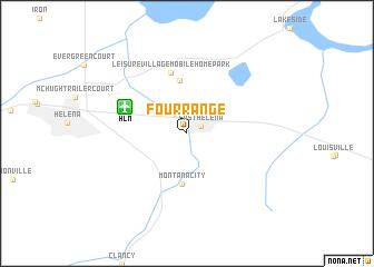 map of Four Range