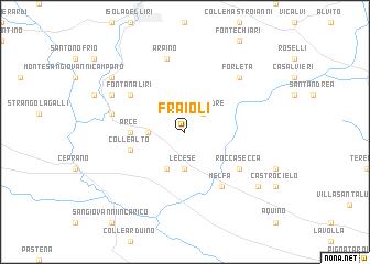 map of Fraioli