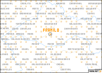 map of Framilo