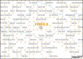 map of Framilo