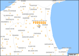map of Frassou