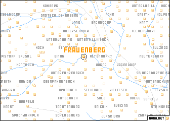 map of Frauenberg