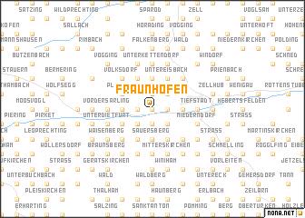 map of Fraunhofen