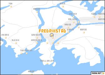 Fredrikstad Norway Map Nonanet - Norway map fredrikstad