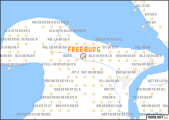 map of Freeburg