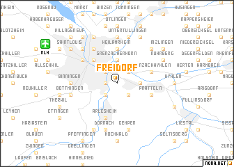 map of Freidorf