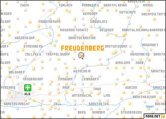 map of Freudenberg
