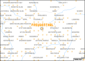 map of Freudenthal