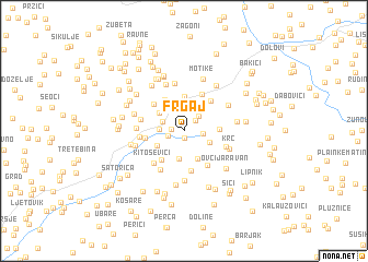 map of Frgaj