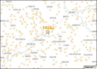 map of Frgaj