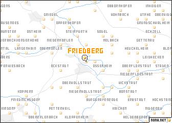 map of Friedberg