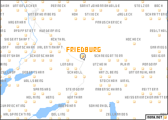 map of Friedburg