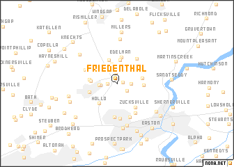 map of Friedenthal