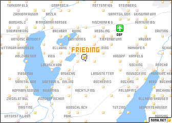 map of Frieding