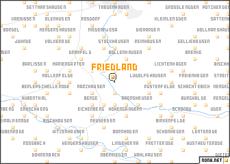 map of Friedland