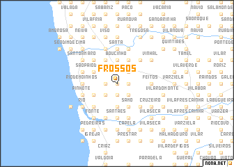 map of Frossos