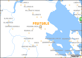 map of Fruitdale