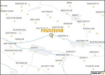 map of Frunzevka