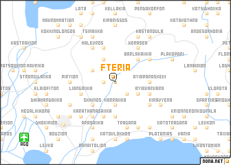 map of Fteriá