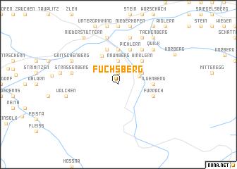 map of Fuchsberg