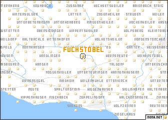 map of Fuchstobel