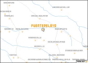 map of Fuentepelayo