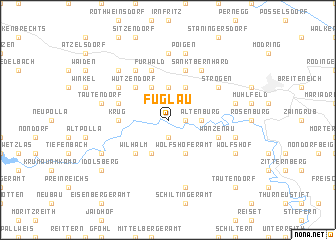 map of Fuglau