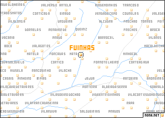 map of Fuinhas