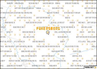 map of Fukersberg