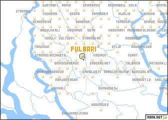 map of Fulbāri