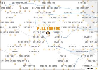 map of Füllenberg