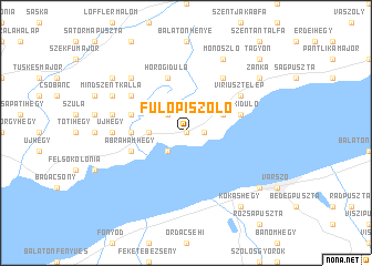 map of Fülöpi Szőlő