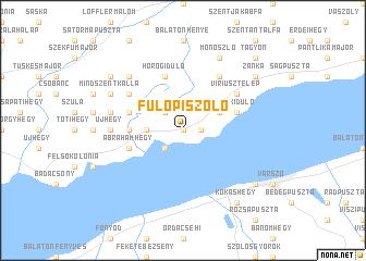 map of Fülöpi Szőlő