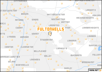 map of Fulton Wells