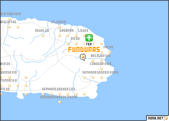 map of Funduras